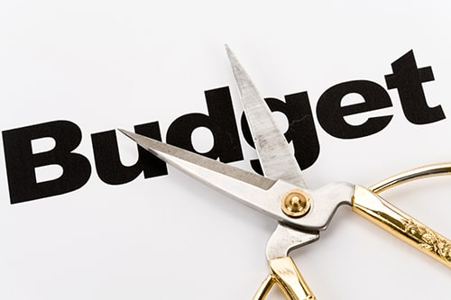 Cutting the cost of expenses with budgeting.